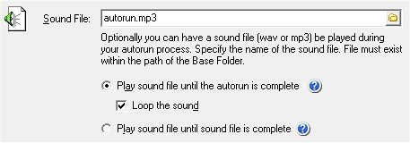 AutoRun Sound File